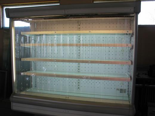 194 Cm-es Faliregál Hűtőregál Tejhűtő